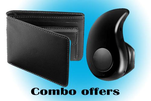 Men's wallets and Sport Bluetooth combo offer