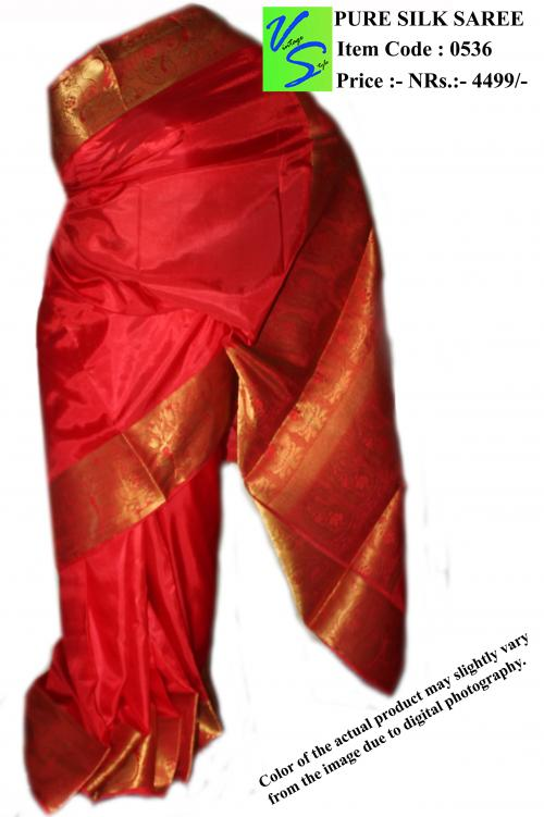 Pure silk saree