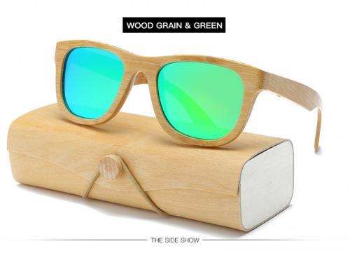 Unisex Wooden/Bamboo Sunglasses