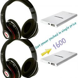 Headphone and Power bank