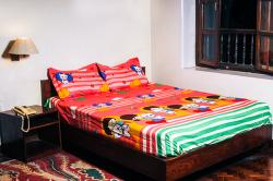 PR-8474 Bed Sheet With Blanket Cover