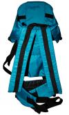 Baby Carrier Bag With Head Cover - Blue (JRB-0084)