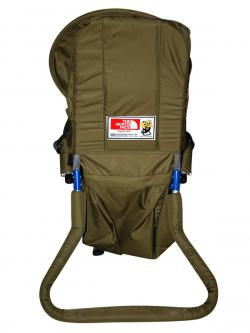 Baby Carrier Bag With Head Cover - Green (JRB-0090)