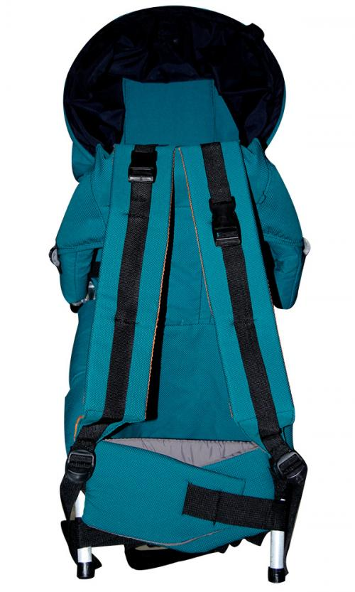 Baby Carrier Bag With Head Cover - Blue (JRB-0086)