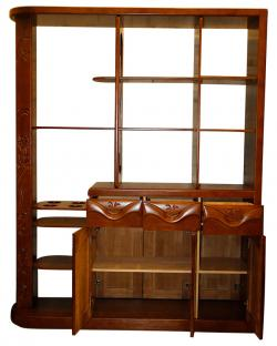 Solid Wooden Bar Cabinet - (SD-099)