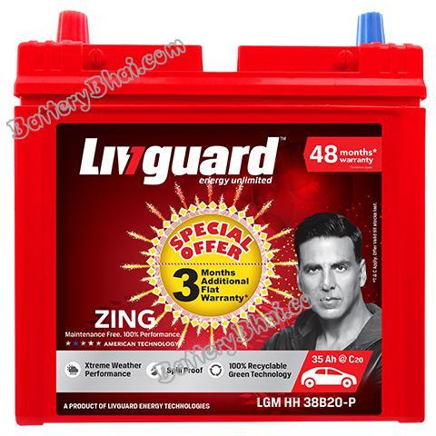 Livguard 35Ah Automotive Battery