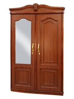 Light Brown Wooden Two Piece Cupboard - (RD-060)