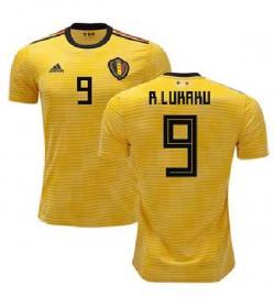 Belgium 9 R. Lukaku Away Jersey 2018 (Printed) - (KSH-092)