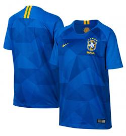 Brazil Away Jersey 2018 (Not Printed) - (KSH-093)