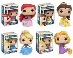 Funko Pop Disney: Princess Collectors Set
