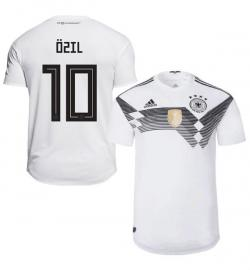 Germany 10 Ozil Home Jersey 2018 (Printed) - (KSH-088)