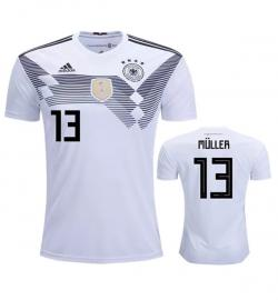 Germany 13 Muller Home Jersey 2018 (Printed) - (KSH-089)