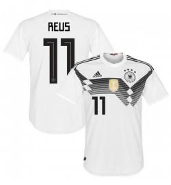 Germany 11 Reus Home Jersey 2018 (Printed) - (KSH-091)
