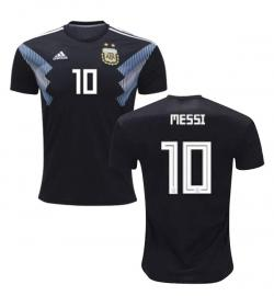 Argentina 10 Messi Away Jersey 2018 (Printed) - (KSH-077)