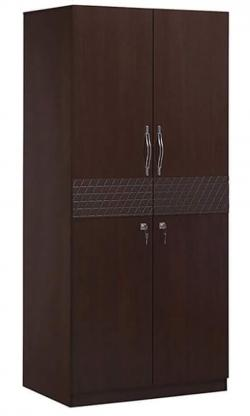 Dark Brown Double Door Cupboard - (RD-057)