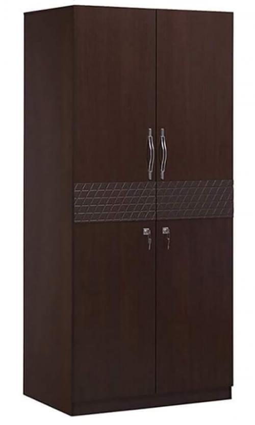 Dark Brown Double Door Cupboard - (RD-057)