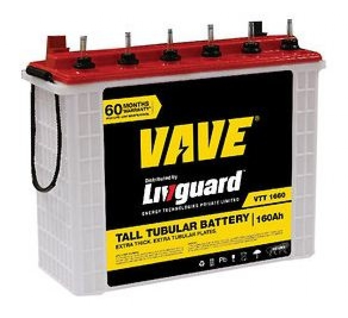 Livguard Vave Inverter Battery 160ah By Midas Group Pvt