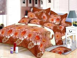 PR-8504 Bed Sheet With Blanket Cover