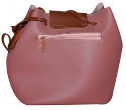 Pink Fringe Hobo Bag - Bucket Bag (RASH-0004)