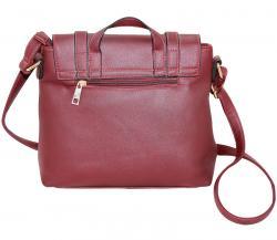 Rusty Red Side Bag/Hand Bag For Ladies (RASH-0009)