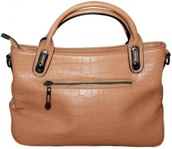 Apricot Brown Side Bag/Hand Bag/Shoulder Bag For Ladies (RASH-0010)