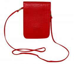 Red Hanging Mini Side Mobile Purse For Ladies (RASH-0014)