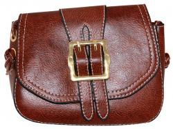Chestnut Brown Shoulder Bag/Side Bag For Ladies (RASH-0020)