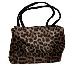 Animal Printed Cotton Shopping Bag For Ladies (RASH-0025)