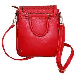Dark Red Fashionable Sidebag For Ladies (RASH-0033)