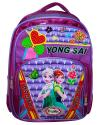 Frozen Printed Purple School Bag For Children (RASH-0042)