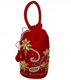 Embroidered Small Bag For Ladies - Thaili (RASH-0071)