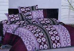 Simal Creation King Size Bedsheet - 100% Fine Cotton - (SI-02)
