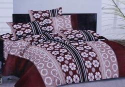 Simal Creation Double Size Bedsheet - 100% Fine Cotton - (SI-03)