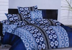 Simal Creation King Size Bedsheet - 100% Fine Cotton - (SI-04)