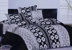Simal Creation King Size Bedsheet - 100% Fine Cotton - (SI-05)