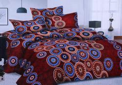 Simal Creation Double Size Bedsheet - 100% Fine Cotton - (SI-07)