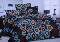 Simal Creation Double Size Bedsheet - 100% Fine Cotton - (SI-13)