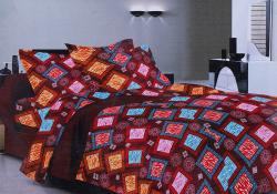 Simal Creation King Size Bedsheet - 100% Fine Cotton - (SI-23)