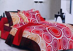 Simal Creation Double Size Bedsheet - 100% Fine Cotton - (SI-24)