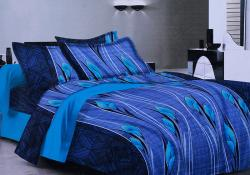 Simal Creation King Size Bedsheet - 100% Fine Cotton - (SI-28)