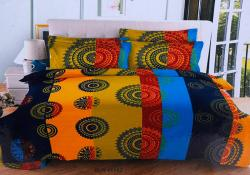Simal Creation Double Size Bedsheet - 100% Fine Cotton - (SI-31)