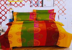 Simal Creation Double Size Bedsheet - 100% Fine Cotton - (SI-32)