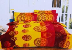 Simal Creation Double Size Bedsheet - 100% Fine Cotton - (SI-33)