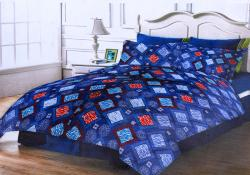 Simal Creation King Size Bedsheet - 100% Fine Cotton - (SI-35)
