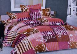 Simal Creation King Size Bedsheet - 100% Fine Cotton - (SI-37)