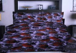 Simal Creation King Size Bedsheet - 100% Fine Cotton - (SI-38)