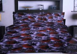 Simal Creation King Size Bedsheet - 100% Fine Cotton - (SI-38)