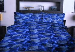 Simal Creation King Size Bedsheet - 100% Fine Cotton - (SI-39)