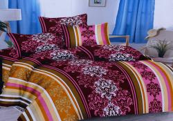 Simal Creation Double Size Bedsheet - 100% Fine Cotton - (SI-40)