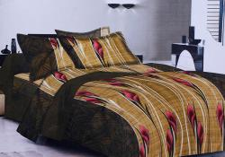 Simal Creation King Size Bedsheet - 100% Fine Cotton - (SI-45)